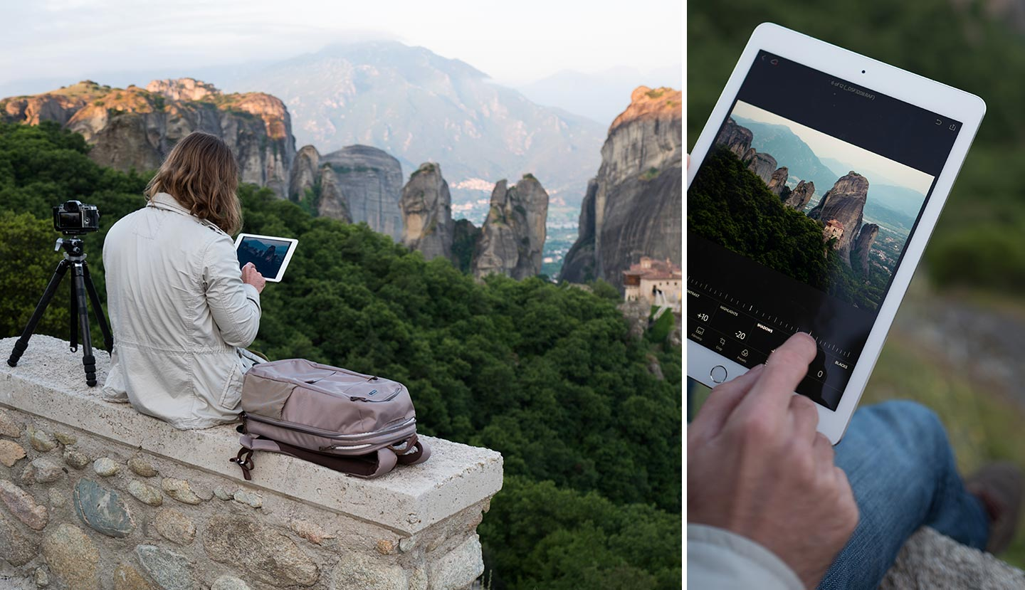 Adobe Lightroom mobile raw for iOS - Elia Locardi review