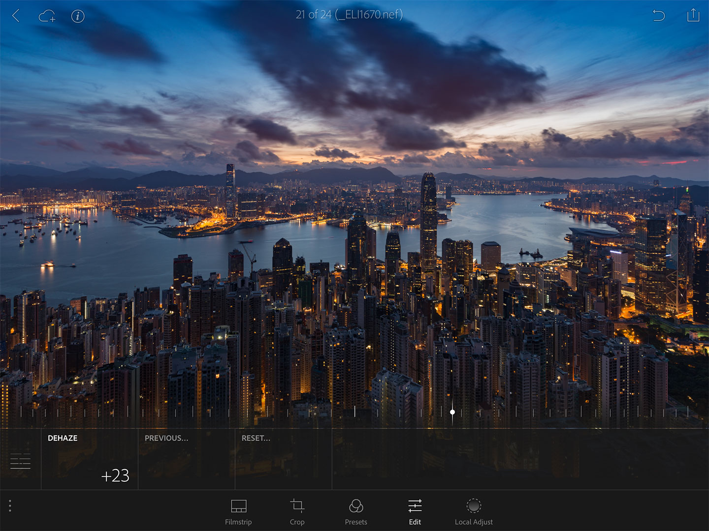 Lightroom-Mobile-Dehaze-Slider-Hong-Kong