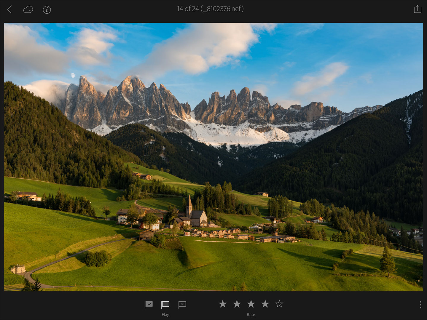 Lightroom-Mobile-Favorites-Flagging-Starring-Italy-Dolomites