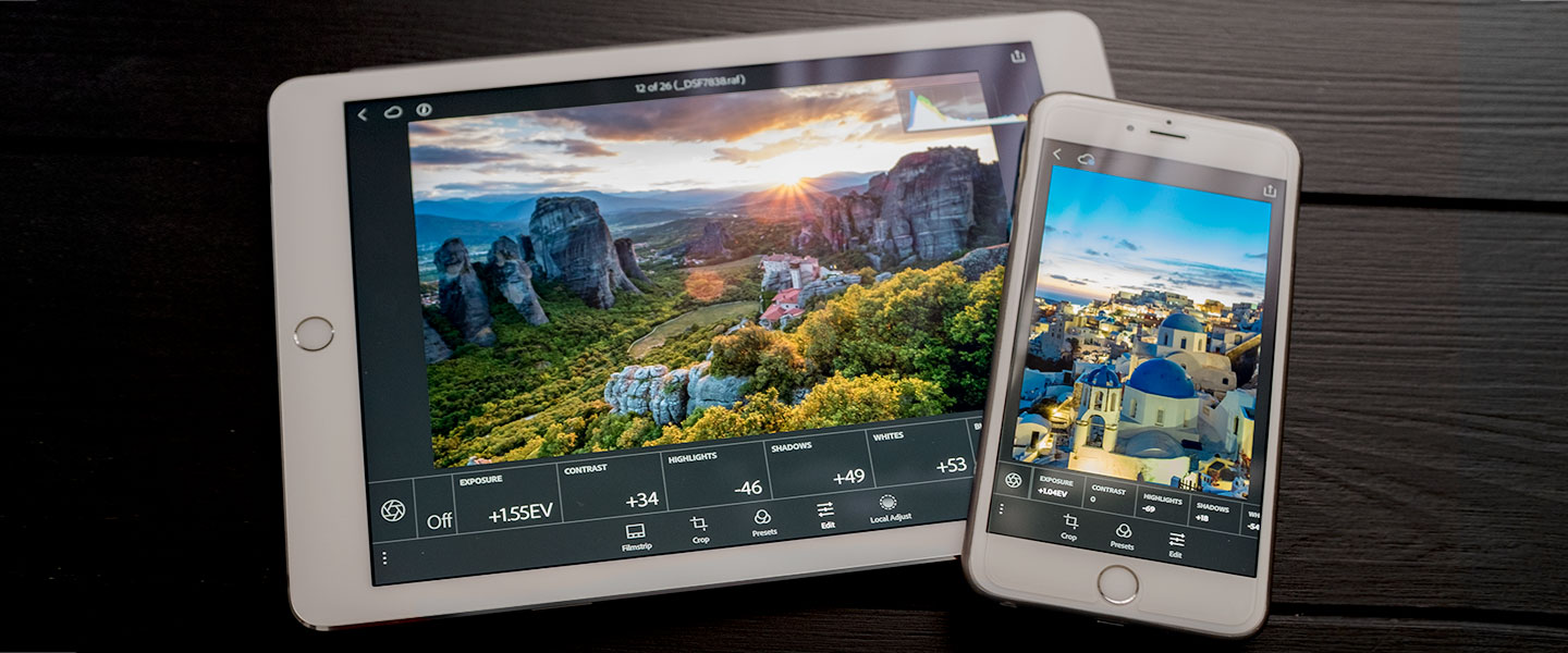 Adobe announces full raw photo editing in Lightroom Mobile for iOS devices!