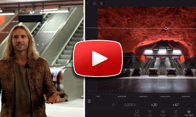Video Tutorial – Shooting and Raw Processing Workflow with Adobe Lightroom Mobile